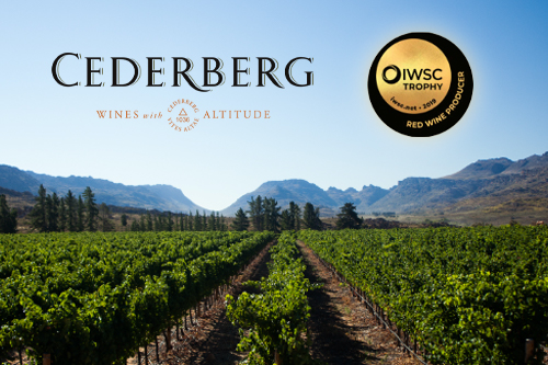 Cederberg: Red Wine Producer of the Year 2019 op de International Wine & Spirits Competition