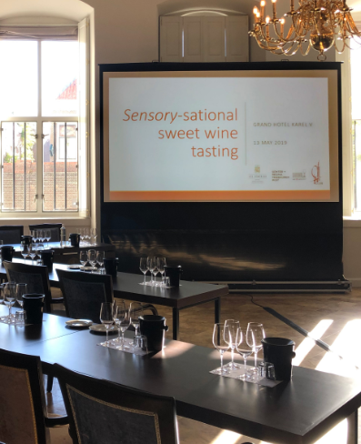 Sensory-sational sweet wine tasting